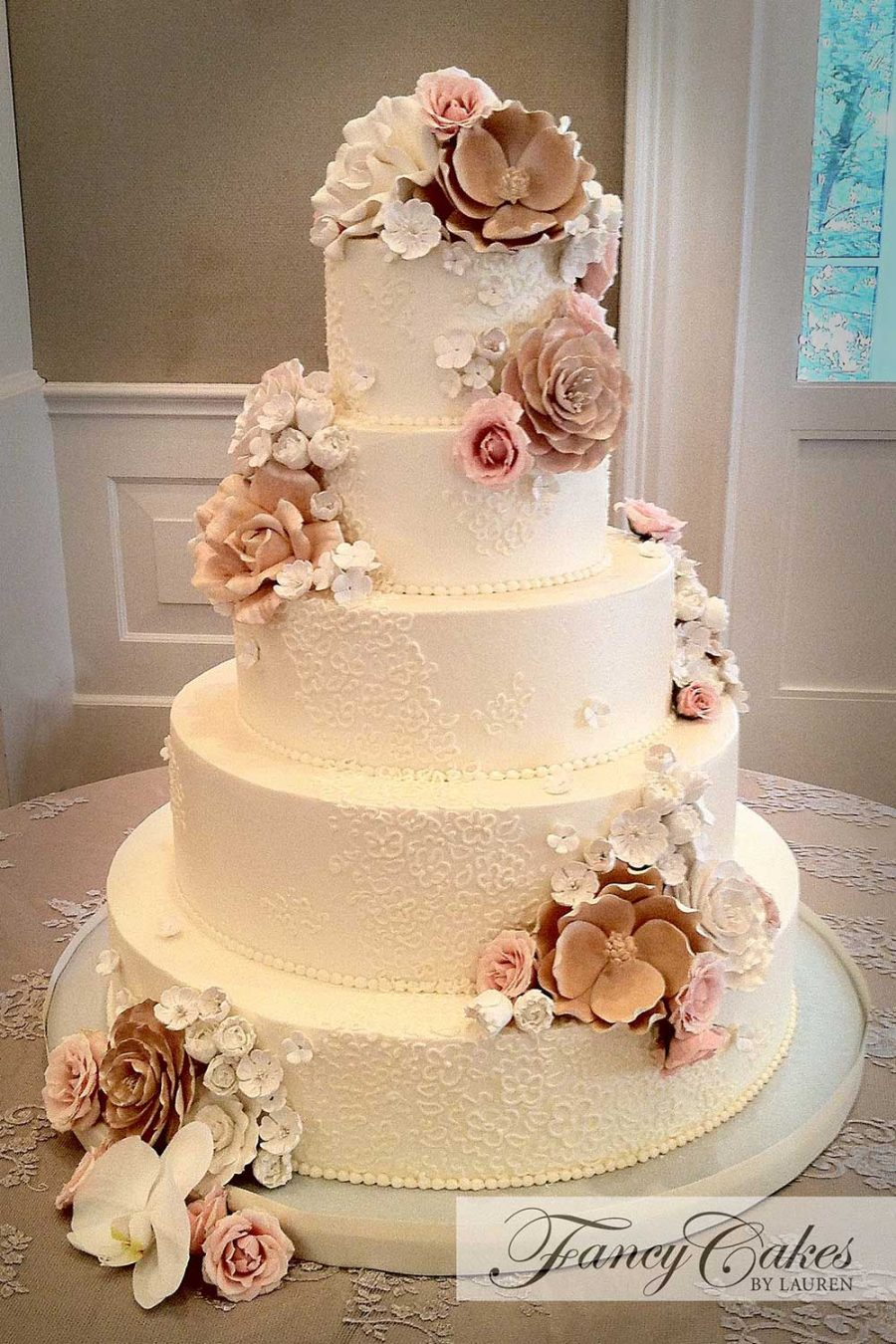 Wedding Cakes - Fancy Cakes by Lauren Kitchens