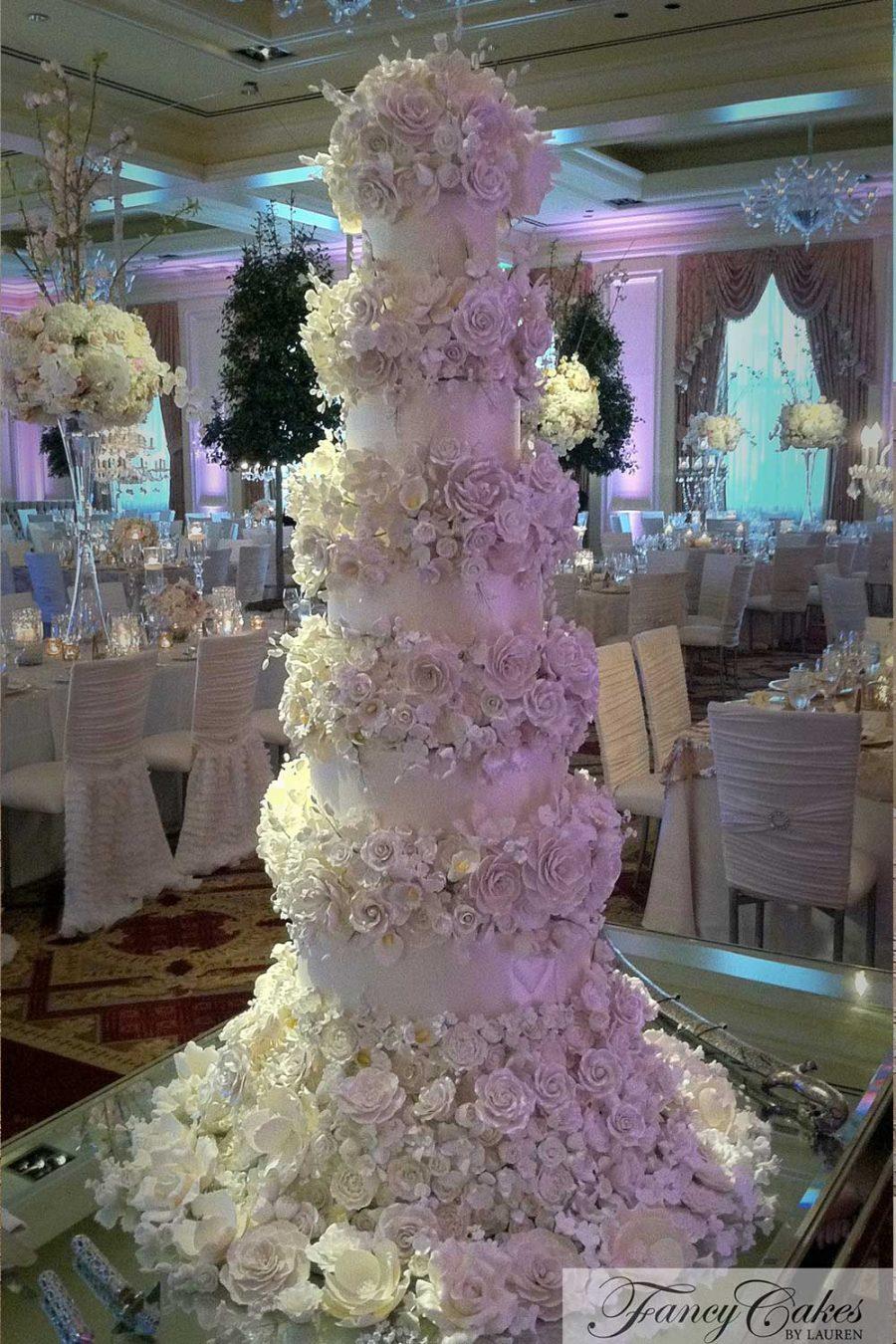 wedding cakes fancy cakes by lauren kitchens. Black Bedroom Furniture Sets. Home Design Ideas
